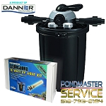 Pondmaster CLEARGUARD Pressurized Filter 5500 with 18 WATT UV