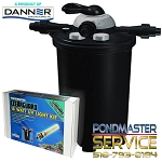 Pondmaster CLEARGUARD Pressurized Filter 8000 with 18-WATT UV