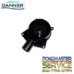 Replacement Cover w/Flow Control and O-ring for Statuary Pump Models 260gph thru 750gph Statuary Pumps