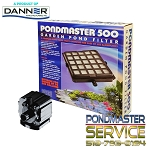 Pondmaster Pond-Mag 500gph Pump with Filter Tray 500