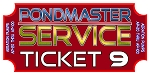 REPAIR TICKET PONDMASTER Deep Water Air Pumps, AP-20, AP-40, AP-60, and AP100 UNITS
