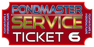REPAIR TICKET STATUARY, FOUNTAIN AND HYDRO SUPREME MODELS SP-70 THRU SP-800