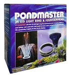 PONDMASTER - L.E.D. 24 Light Fountain Head