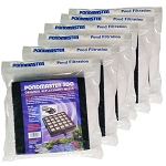 PONDMASTER - FILTER PAD 2-Pack COARSE & CARBON for PM500 - Case of 6