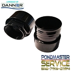 PONDMASTER - Clearguard 3 Inch Replacement Inlet - Outlet Fitting for 16000