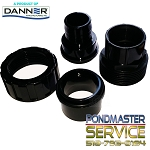 PONDMASTER - Clearguard -1.5 Inch Inlet-Outlet Replacement Fitting for Filters 2700, 5000, 8000