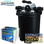 PONDMASTER - Clearguard Pressurized Filter 16000 W/2-18-watt UV's