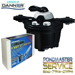 Pondmaster CLEARGUARD Pressurized Filter 2700 with 9 WATT UV