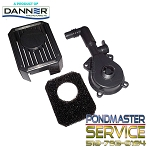 Replacement  Flow-control Cover , O-ring, screen & Foam for Pondmaster 190gph