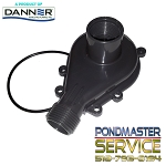 Replacement Cover and O-ring for Pond-Mag Model 9.5 / Mag-Drive 950gph