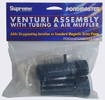 PONDMASTER - Venturi Assembly w/ Tubing & Air Muffler (Large)