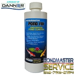 PONDMASTER - POND FIX Biological Pond Clarifier 16oz Liquid