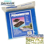 PONDMASTER - Filter Pad - Fine Blue Polyester (3 per package) 1250pmk thru 4400pmk Filter kits