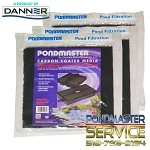 PONDMASTER - Filter Pad Carbon for 1250pmk - 4400pmk Filter Kits (3-pk)