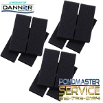 PONDMASTER - Filter Foam Support Block Set for 2950pmk thru 4400pmk Filter-kits (3 sets of 4 blocks)