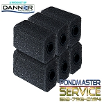PONDMASTER - PRE-FILTER LARGE FOAM FOR POND-MAG / MAG-DRIVE MODELS 2 thru 7 (CASE OF 6)