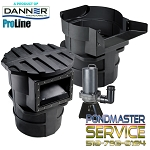 PONDMASTER - 5100gph Hy-drive with Pro-5000 Skimmer & Falls