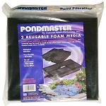 PONDMASTER - FILTER PAD 2-Pack FOAM PADS for PMK1250-4400 FILTER KITS