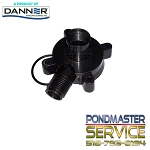 PONDMASTER - Replacement Cover and O-ring for Pond-Mag Models 5 & 7 / Mag-Drive 500gph & 700gph