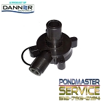 PONDMASTER - Replacement PMK Cover and O-ring for Pond-Mag Model 2 & 3 / 250gph & 350gph