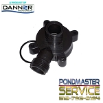 PONDMASTER - Cover Care Volute with Garden Hose Threaded Outlet