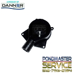 PONDMASTER - Replacement Cover w/Flow Control and O-ring for Statuary Pump Models 260gph thru 750gph Statuary Pumps