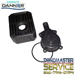 PONDMASTER - Replacement Original Flow-control Cover w/ O-ring, Screen & Foam for Pondmaster 190gph