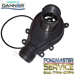PONDMASTER - Replacement Cover and O-ring for Pond-Mag Models 24 & 36 / Mag-Drives 2400gph & 3600gph