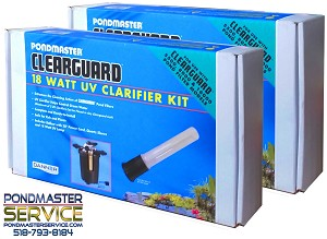 PONDMASTER - Clearguard (NEW) 18 Watt UV Conversion Kit (2-PACK)