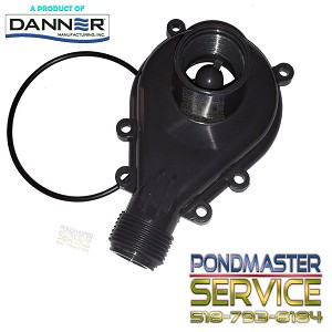 PONDMASTER - Replacement Cover and O-ring for Models 12 & 18 POND-MAG PUMP