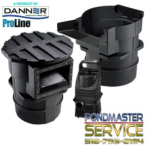 PONDMASTER - Pro-Line 4800gph Hy-drive with Pro-5000 Skimmer & Falls